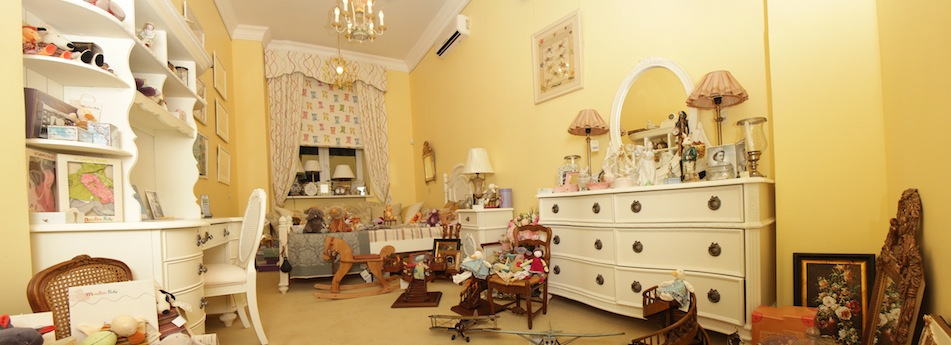 Interior design showroom Elizabeth&Anna Nursery room